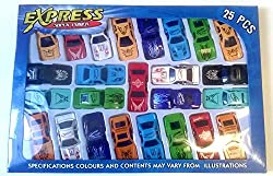 Zest 4 Toyz 25 pcs cars set of kids small sports cars, cars set free wheel
