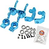 Hobbypark For HSP RC 1/10 Model Car Parts Aluminum Steering Hub Mount Upgrade 102010 102011 102012 Fit Monster Truck Drift Buggy BRONTOSAURUS Redcat Volcano EPX