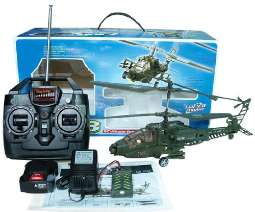 3CH SYMA Apache Double Surbine Hawk Helicopter HD88