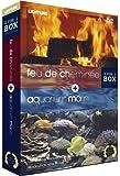 echange, troc Bundle Aquarium Marin + Feu de cheminée