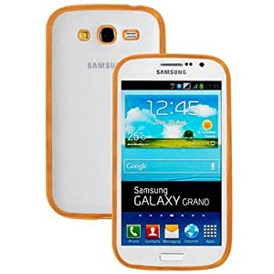 Samsung Galaxy Grand i9082 Premium Quality Transparent Back Cover(Gold) By Vinnx