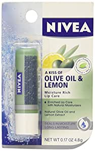 Nivea Lip Care Moisture Rich Olive Oil & Lemon