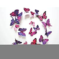 DIY Wall Decoratio & Art Stickers Decal for Home Bedroom Decor Corp Office Wall Colorful Purple from Qianxing