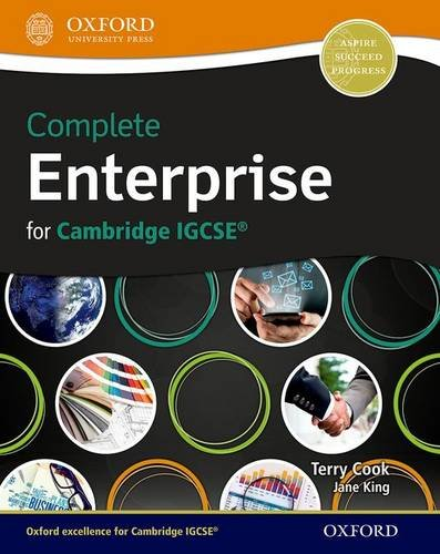 Complete Enterprise for Cambridge IGCSE(R), by Terry L. Cook, Jane King
