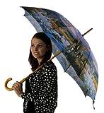 April Showers Auto Open Umbrella Collection, Evening Safari Print