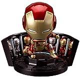 アイアンマン3 ねんどろいど アイアンマン マーク42 ヒーローズ・エディション+ホール・オブ・アーマーセット (ノンスケール ABS&PVC塗装済み可動フィギュア)