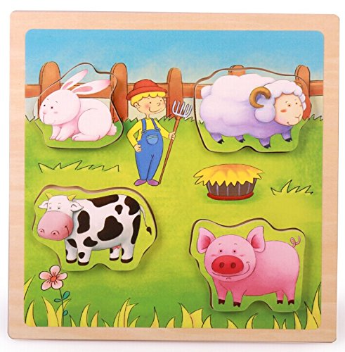TOP BRIGHT Farm Animal Puzzle