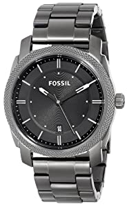 Fossil Men's FS4774 Machine Analog Display Analog Quartz Grey Watch
