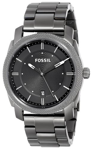 Fossil Men's FS4774 Machine Analog Display Analog Quartz Grey Watch