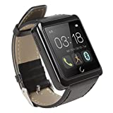 Generic U10L Watch Smart U Watch Bluetooth Smartphone For IPhone 6/5s/5/4s/4 HTC LG SONY Samsung S4/Note2/Note3 Android Phone Smartphone - Black