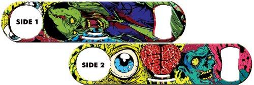 Inked Strainer Bottle Opener: Eye Heart Zombies