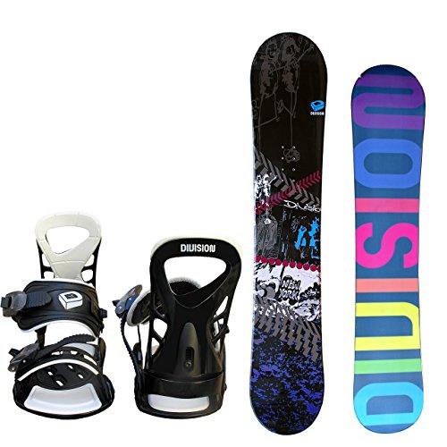 DIVISION  メンズ スノーボード 2点セット KLEIDUNG size152 ブラック×ホワイトML
