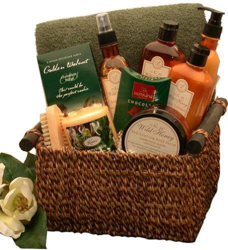 Vanilla Spa Indulgence Set - Bath and Body Gift Basket