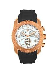 Swiss Legend Men's 20127-RG-22-BLK Commander Diamonds Chronograph Watch