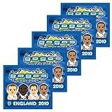5 x Go Go's Crazy Bones ENGLAND 2010 Packet