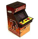 Borne d arcade tirelire avec jeu vid?o 15 cm