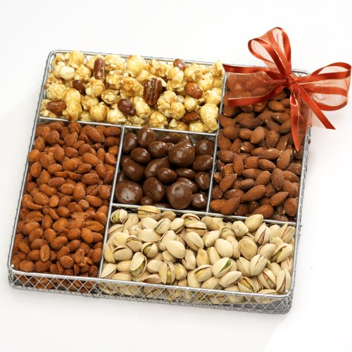 Broadway Basketeers Gourmet Nut Gift Basket
