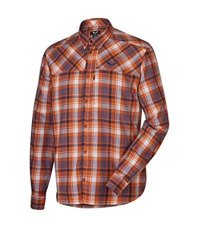 Salewa Camicia Uomo Fanes Flannel Pl M L/S Srt