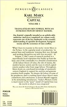 Capital : a critique of political economy (Book, 1990 ...
