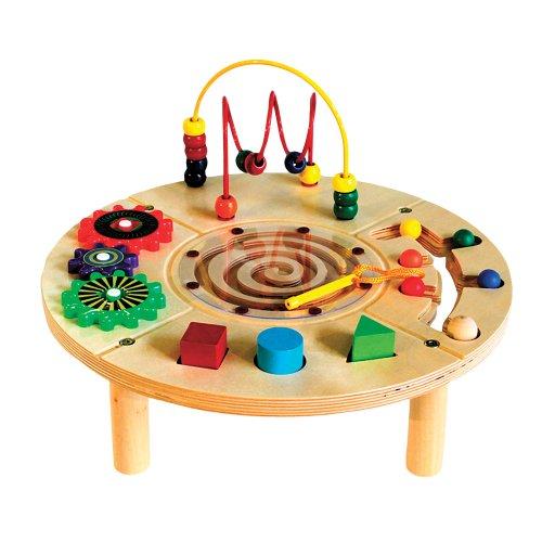 Imagen de Círculo Play Center Table Actividad de Madera