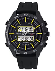Q&Q ANALOG-DIGITAL Men's Watch DE08J502Y