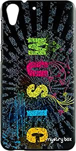 Purple Eyes Exclusive Designer Printed Back Cover for HTC Desire 728::728G (Music World)