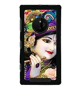 Lord Krishna 2D Hard Polycarbonate Designer Back Case Cover for Nokia Lumia 830 :: Nokia Lumia 830 RM-984