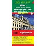 Freytag Berndt Stadtpläne, Wien Touristenplan - Maßstab 1:8.500 - 1:25.000