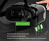 Tepoinn Second Version Virtual Reality Headset VR Goggle Box 3D Glasses for 3D Movies Video Games, Compatible with iPhone 7/ 7 Plus Samsung Galaxy Series and Other Smartphone Up to 6 Inch