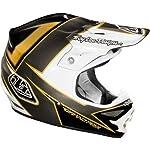 Troy Lee Designs Stinger Air MotoX/Off-Road/Dirt Bike Motorcycle Helmet - Black/Gold / Large