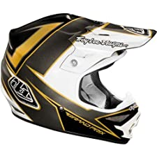 Troy Lee Designs Stinger Air MotoX/Off-Road/Dirt Bike Motorcycle Helmet - Black/Gold / Large