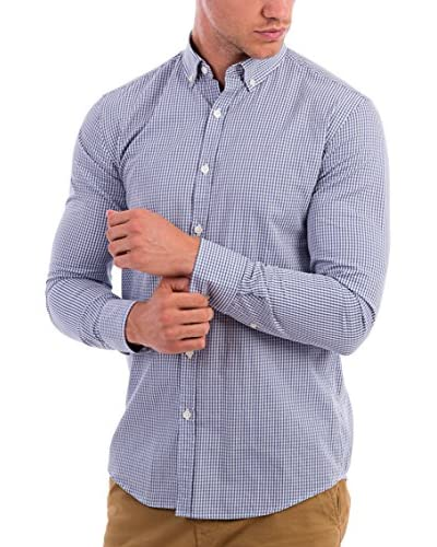BLUE COAST YACHTING Camisa Hombre Azul