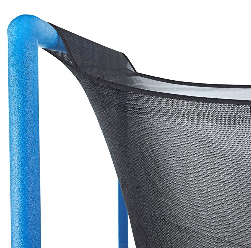 Upper Bounce Trampoline Enclosure Safety Net With Sleeves