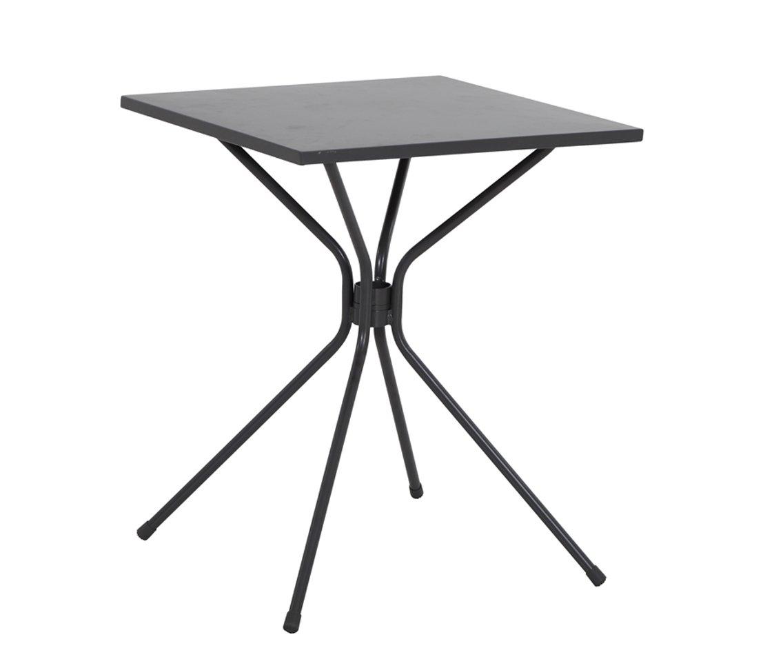 Dehner Living Metall-Tisch Jimmy, ca. 71 x 60 x 60 cm, 6.4 kg, Metall, anthrazit günstig online kaufen