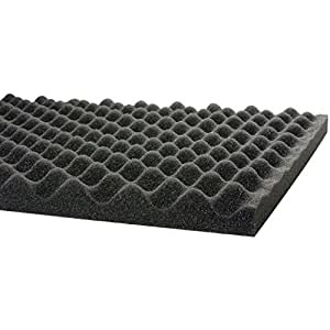"Professional Acoustic Foam 1-1/2"" X 24"" X 18"" Ul 94"