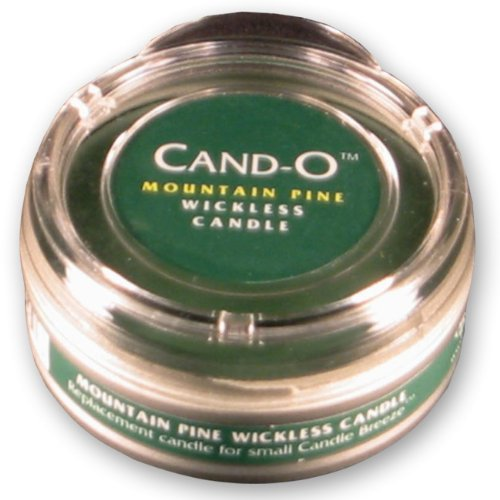 Candle Breeze Small Cand-o Mountain Pine Scented Candle