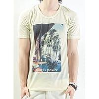 (バレッタ) Valletta 6type 刺繍入り昇華転写フォトプリントクルーネックTシャツ