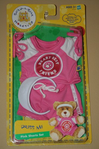 1 X Build a Bear Dress Me Pink Shorts Set
