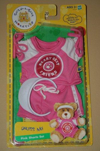 1 X Build a Bear Dress Me Pink Shorts Set - 1