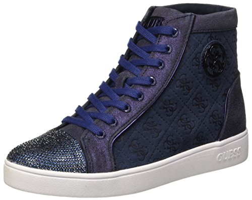 Guess Gloria, Scarpe a Collo Alto Donna, Blu, 38 EU