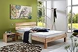 SAM-Massiv-Holzbett-Julia-in-Buche-natur-gelt-180-x-200-cm-Bett-mit-geteiltem-Kopfteil-natrliche-Maserung-massive-widerstandsfhige-Oberflche-in-zeitlosem-Naturton