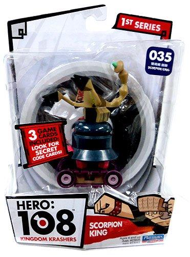 Hero 108 Kingdom Krashers Series 1 Action Figure #035 Scorpion King