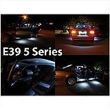 GENSSI Interior White LED Kit 14pcs Fits all Models BMW E39 5 Series 1997-2003