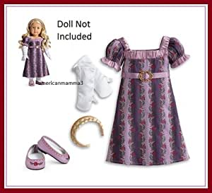 American Girl American Girl Caroline Carolines Holiday Gown