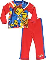 Character Boys Lego Movie Pyjamas Ages 3 to 12 Years