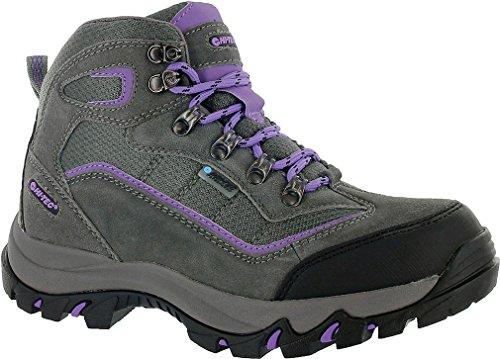 Hi-Tec Women'S Skamania Mid Wp Hiking Boot, Grey/Viola,8.5 M Us