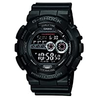 Casio G-Shock Stop-Watch Digital Black Dial Men's Watch - GD-100-1BDR (G310)