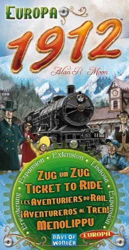 Ticket To Ride 1912 Expansion (Ticket Ride Trains compare prices)
