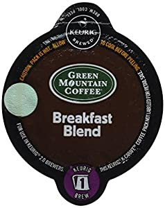 Keurig 2.0 Green Mountain Coffee Breakfast Blend K-carafe Packs