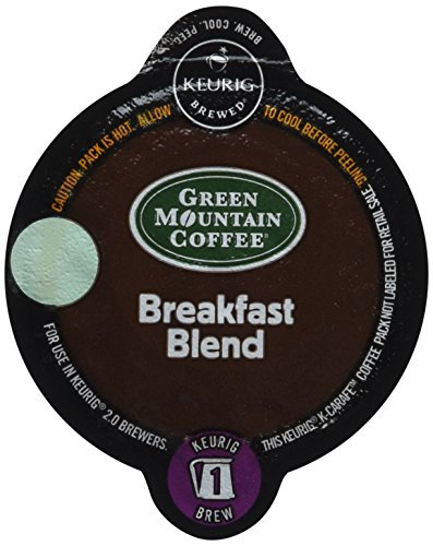 Keurig 2.0 Green Mountain Coffee Breakfast Blend K-carafe Packs (8) (Keurig Carafe Kcups compare prices)